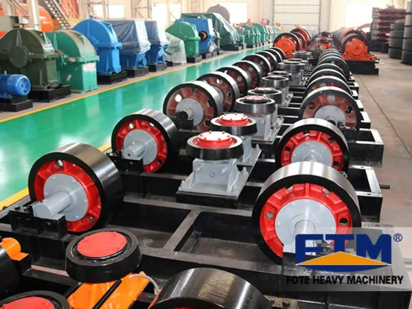 rotary drum drier guide wheel